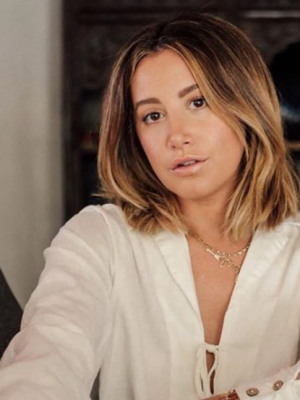 Ashley Tisdale se convertirá en madre junto a su esposo Christopher French